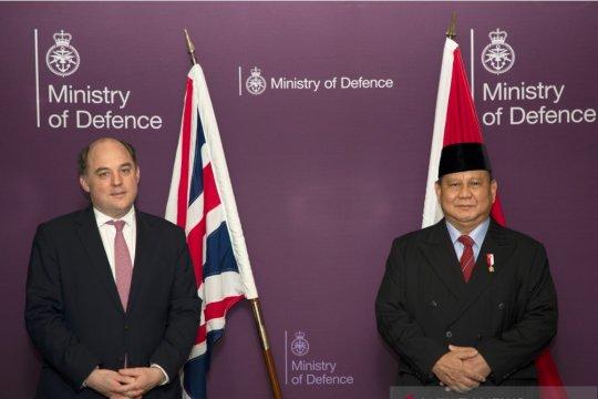 Prabowo temui Menhan Inggris bahas kerja sama pertahanan