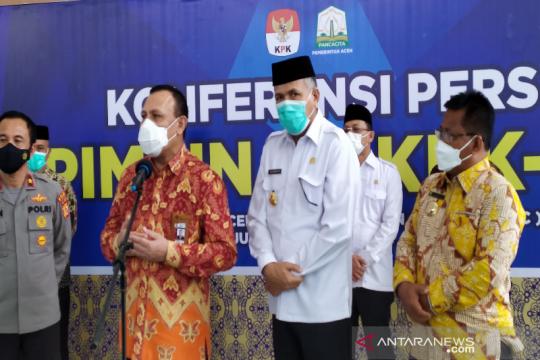 Ketua KPK ingatkan kepala daerah di Aceh tidak korupsi