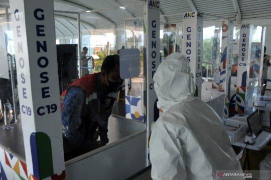 Uji coba tes cepat COVID-19 dengan GeNose C-19 di bandara