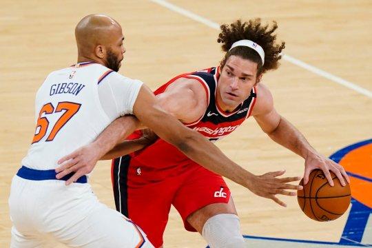 Knicks bangkit dari defisit 17 poin untuk kalahkan Wizards