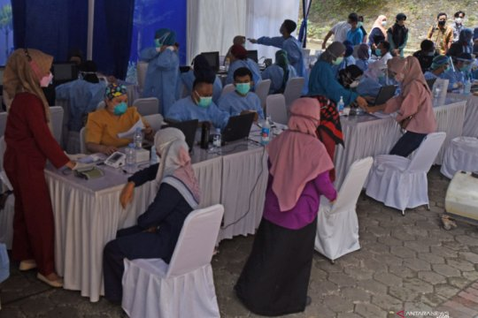 Kasus COVID-19 di Banten naik 6.000 sepekan