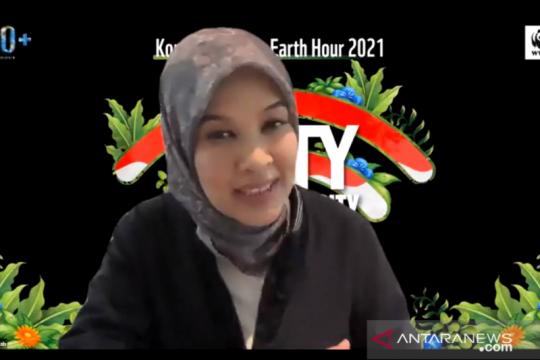 WWF: Earth Hour penting untuk pembentukan karakter pemuda