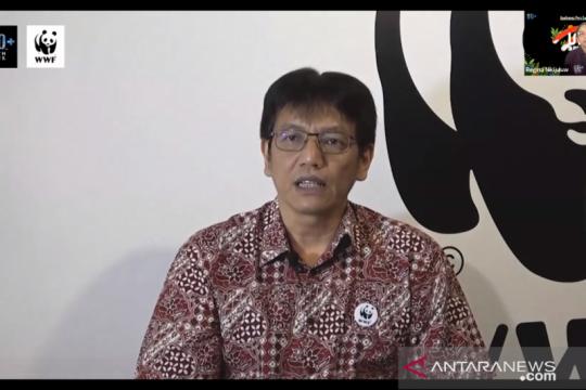 Earth Hour 2021 dilakukan online dan diikuti 32 daerah di Indonesia
