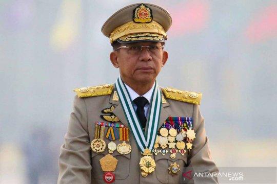 Pemerintah bayangan Myanmar kutuk junta militer ambil peran PM