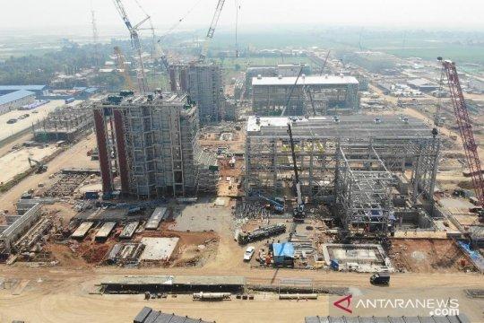Pembangunan PLTGU Jawa I telah 96 persen target operasi Desember 2021