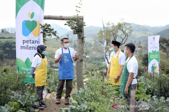 Bank BJB siapkan dana KUR Rp1,1 triliun untuk petani milenial