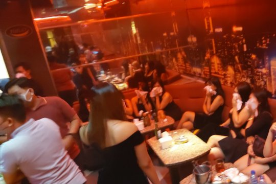 Polda Metro segel dua tempat hiburan malam di Serpong