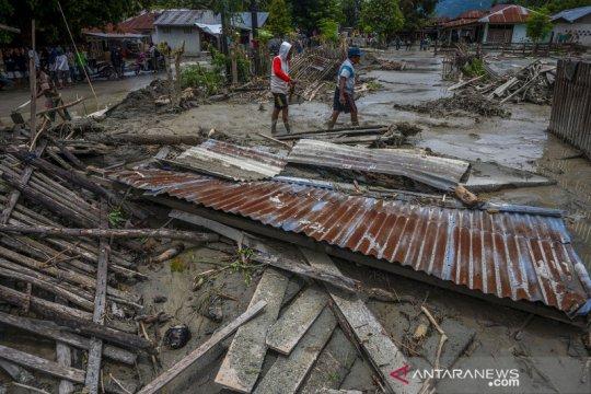 Banjir lumpur di Kabupaten Sigi