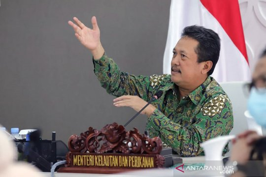 Menteri Trenggono sosialisasikan inovasi KKP aplikasi Laut Nusantara