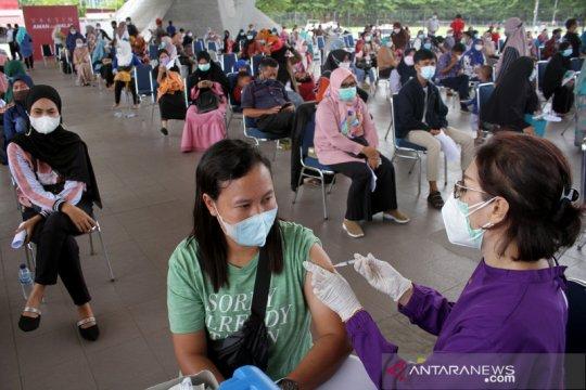 Indonesia masuk 10 besar negara terdepan lakukan vaksinasi Covid-19
