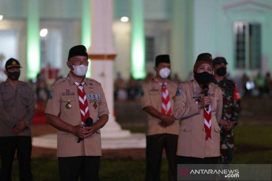 Gubernur Jatim buka perkemahan sehat era pandemi di Jember