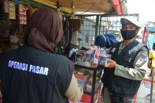 Operasi pasar rokok ilegal