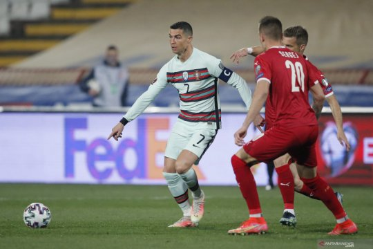 Portugal imbang 2-2 dengan Serbia, Jota cetak brace