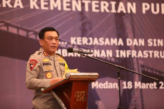 Polda Sumut memperketat pengamanan usai ledakan bom di Makassar