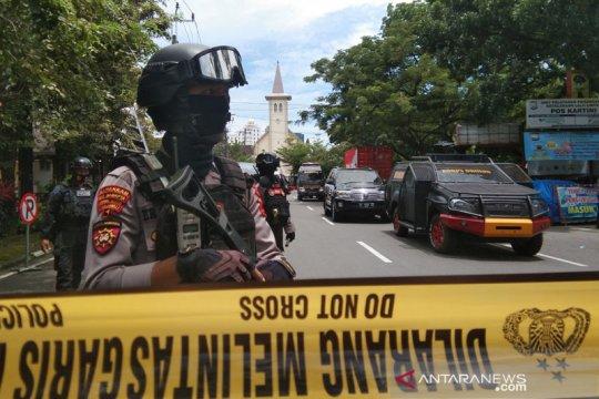 Wakil Ketua MPR dorong kepolisian usut tuntas serangan bom di Makassar