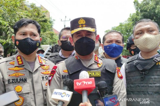 Polda Sulsel sebut korban bom Gereja Katedral Makassar sembilan orang
