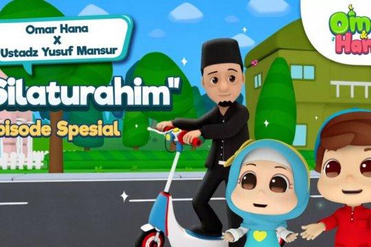 """Animasi """"Omar & Hana"""" kolaborasi dengan ustaz Yusuf Mansur"""