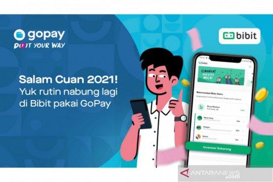 GoPay dan Bibit rilis fitur investasi reksadana otomatis