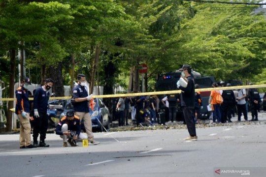 Polisi perketat pengamanan objek vital di Sulsel setelah ledakan bom