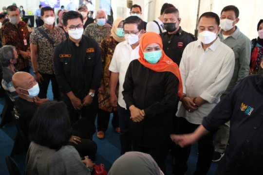 Sentra Vaksinasi Bersama BUMN di Jatim buka selama dua bulan