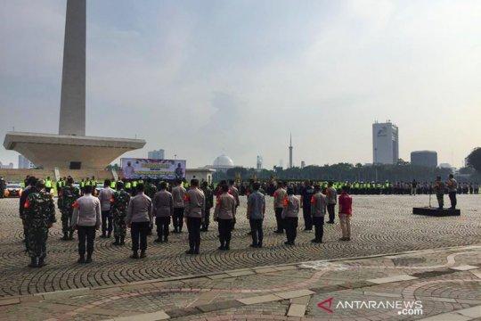 Sebanyak 389 personel gabungan apel siaga amankan Jakarta Pusat