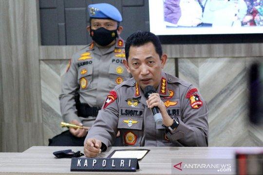 Polri: 13 terduga teroris diamankan pascabom bunuh diri Makassar