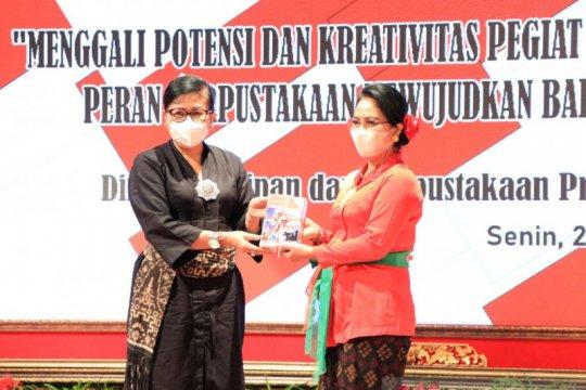 Putri Koster ajak pegiat seni Bali serah simpan KCKR di perpustakaan