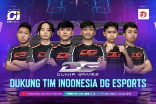 Indonesia puncaki klasemen grup di CODM Garena Invitational 2021