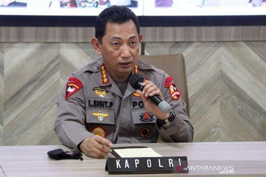 Kapolri: Pelaku penembakan beraksi sendiri