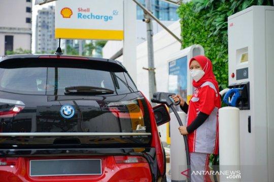 Shell Indonesia memperkenalkan SPKLU pertama