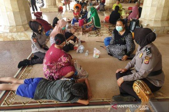 Polisi bantu pemulihan trauma warga sekitar kilang Pertamina Balongan