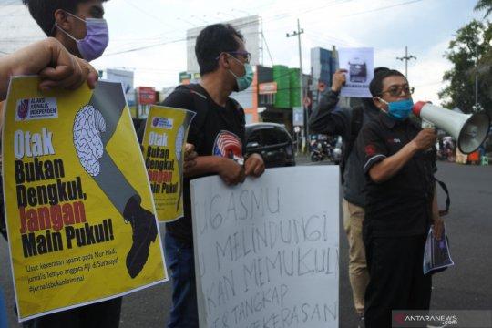 Anggota DPR minta polisi usut kekerasan terhadap jurnalis Tempo