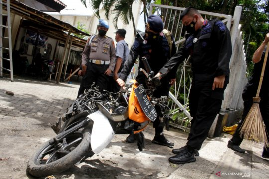Polri sebut pelaku bom bunuh diri di Makassar pasangan suami istri