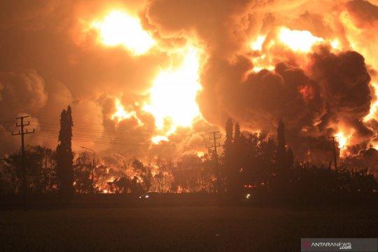Polri kerahkan Inafis telusuri penyebab kebakaran kilang Balongan