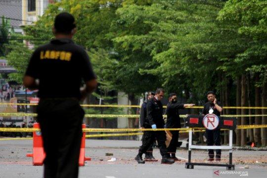 Kemarin, penangkapan terduga teroris hingga pelaku bom Makassar