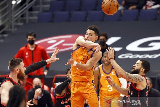 Suns tahan Hawks untuk meraih kemenangan ketiga beruntun