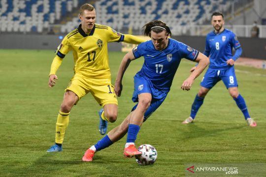 Kualifikasi Piala Dunia: Swedia kalahkan Kosovo 3-0