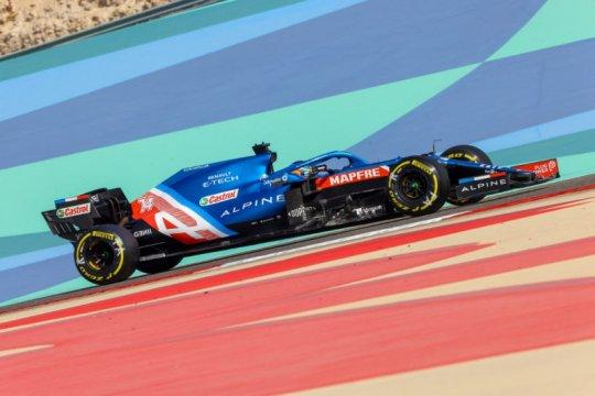 Bungkus sandwich biang kerok Alonso gagal finis di Bahrain