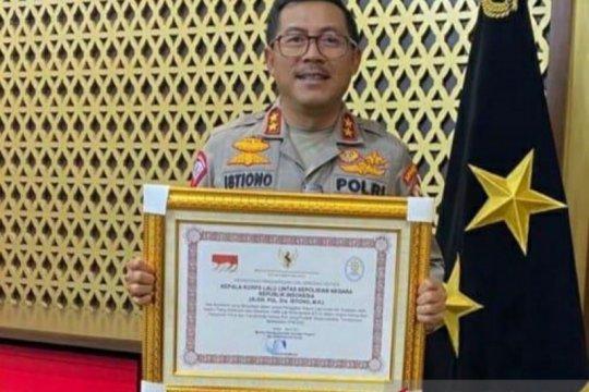 Menpan RB beri penghargaan Kakorlantas Polri terkait penerapan ETLE