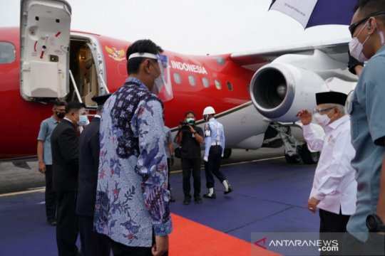 Wapres kunjungan kerja ke Kalteng untuk resmikan Bandara HM Sidik