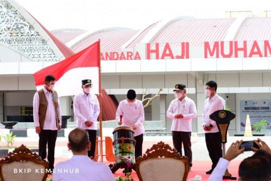 Menhub harap Bandara Haji Muhammad Sidik tingkatkan konektivitas