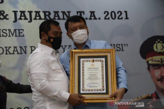 Ditjen PAS terima penghargaan pemberantasan narkoba dari Kabareskrim