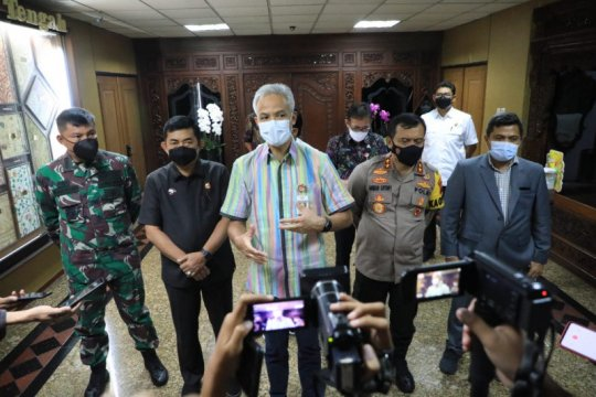 Ganjar sebut Jawa Tengah tidak terdampak terorisme