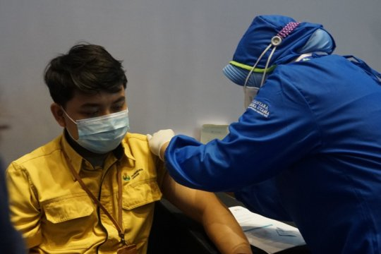 6.821 karyawan Petrokimia Gresik disuntik vaksin