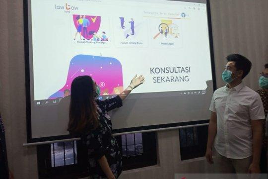 Tujuh advokat Surabaya luncurkan aplikasi pelayanan konsultasi hukum