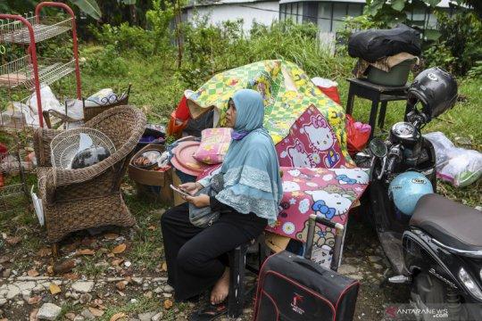 Penertiban bangunan liar di Jakarta