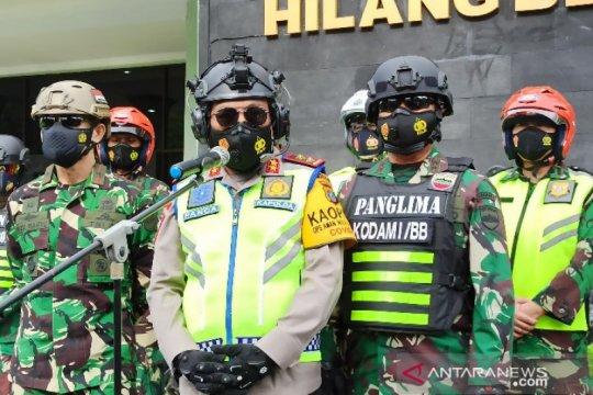 TNI-Polri patroli berskala besar jelang Paskah dan Ramadhan di Sumut