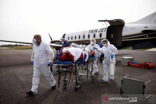 Pemindahan pasien COVID-19 dari Lille ke Vannes