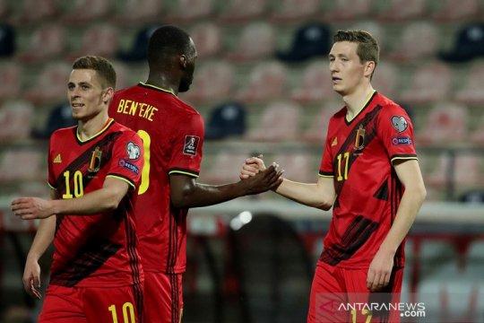 Belgia babat habis Belarusia, Wales petik kemenangan perdana