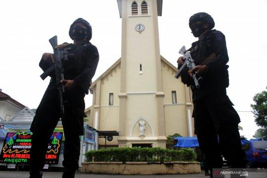 Polisi jamin peringatan wafat Yesus Kristus di Gresik aman